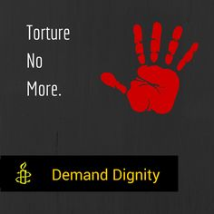Amnesty Demand Dignity Campaign.