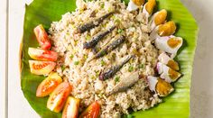 This Sardines Fried Rice Recipe is so easy to prepare that you can make a bunch for the whole family. This fried rice's flavor comes from salty sardines, making it a delectable and filling Pinoy side dish. Boodle Fight, Sardine Recipes, Boodles, Rice Recipes, Fried Rice, Cobb Salad, Fries, Side Dishes, Canning