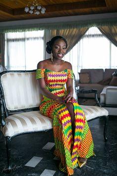 I Do Ghana   Bride: Claudia   Photos: Onefotos   Mua : Valeirie Lawson   Coordination: Purple Twirl Events   Gown: Pistis   Kente Bride
