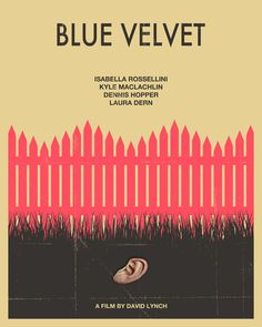 Blue Velvet Movie Poster Art Print