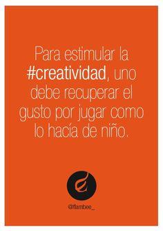 Jugar es la forma de ser creativo #gamification @golomud