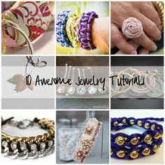 Easy DIY Bracelets | Babble Roundup: T-Shirt and Shoe Makeovers, Jewelry and More!