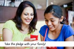 Take a family pledge for smart use of technology