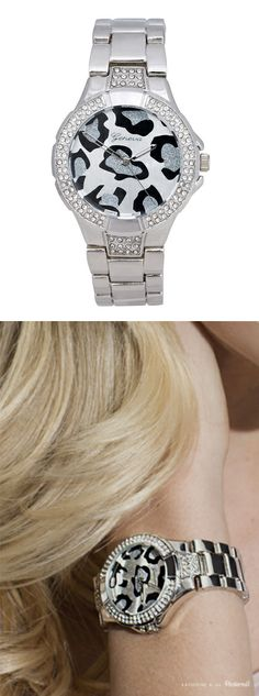 This watch is so cute! If I wore watches.... How cute a this? @Shirley Cochran