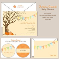 Fall Autumn Baby Shower