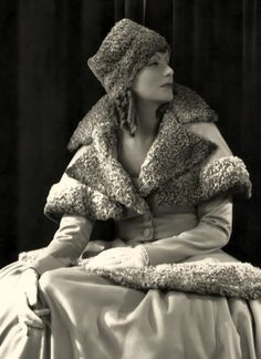 Greta Garbo. Pure vintage class and beauty!! - @Allan Dynes