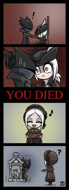 Uncanny Valley (Bloodborne - The Old Hunters) by Lee-Sanixay on DeviantArt