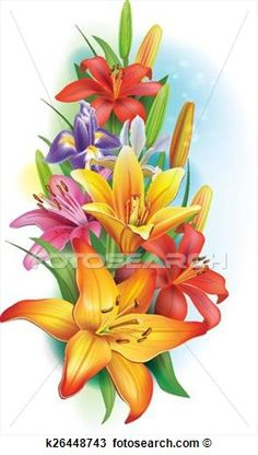 Buy Garland of Lilies and Iris Flowers by on GraphicRiver. Garland of lilies and irises flowers. Zip contains: 1 JPEG file high resolution. Iris Flowers, Felt Flowers, Paper Flowers, Flowers Garden, Lirio Tattoo, Orchid Drawing, Alcohol Ink Crafts, Mushroom Art, Flower Phone Wallpaper