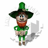 Leprechaun Dancing Animated Clipart St Patrick S Day Leprechaun Animated Clipart Animation