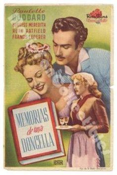 Diary of Chambermaid Memorias de una Doncella Spanish Movie Poster
