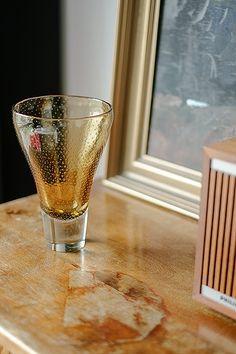 GN 12 by Gunnel Nyman Amber coloured vase, designed by Gunnel Nyman in Signed G. Amber Color, Glass Art, Bubbles, Vase, Tableware, Artist, Photos, Design, Beauty