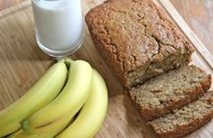 Easy Moist Banana Bread Recipe | Divas Can Cook    Made muffins, added one extra banana, and used heavy whipping cream instead of buttermilk, added 1/4 tsp. of almond extract. Baked at 300ish for 15 minutes. So GOOD!