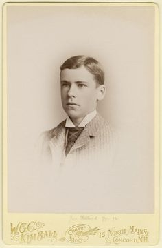 Joseph Shattuck Jr. attended St. Paul's School, Concord, New Hampshire from 1885 to 1888 and is a member of the Form of 1888.