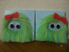 Monster canvases for Monster swap