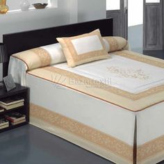 Colcha Edredón Rita Barbadella Luxurious Bedrooms, Dream Bedroom, Bed Covers, Bed Spreads, Bed Sheets, Diy Furniture, Aragon, Luxury, Storage