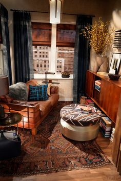 inside the new set of Will & Grace !