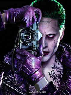 BATMAN NOTES - Batman: The Killing Joke & Suicide Squad mashup...