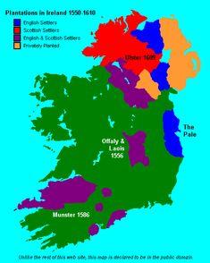 Plantation of Ulster & Ireland Saint Patrick, Free Genealogy Sites, England Map, Irish Language, Irish Eyes Are Smiling, Irish Culture, Irish American, World Religions, Irish Traditions