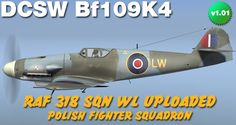 Bf109 skin , you can download it here: http://www.lockonfiles.com/files/file/3037-dcs-bf-109-k4-raf-rae-farnborough/