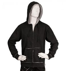 Basic Men's Hoodie - Charcoal Men's Sweatshirts, Hoodies, The Man, Charcoal, Bomber Jacket, Jackets, Products, Fashion, Down Jackets