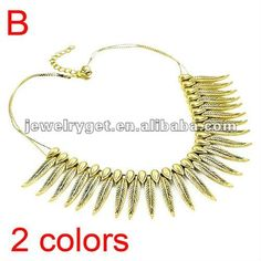 Aliexpress.com : Buy Beauty Leaf Metal Collar Choker Necklaces, Personalized Desgin Necklace, NL 1731 from Reliable big choker necklace suppliers on Well Done Fashion Jewelry Co.,Ltd. $9.12