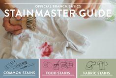 No-Fail Stain Guide: Hoe snel en gemakkelijk te behandelen Elke Stain