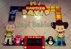 Toys story party frame ideas for 2019 Woody Birthday, Toy Story Birthday, 1st Birthday Parties, 4th Birthday, Birthday Ideas, Toy Story Baby, Toy Story Theme, Cumple Toy Story, Festa Toy Story