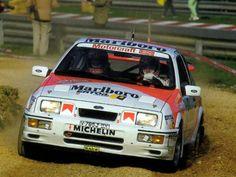 1987 C.Sainz-A. Boto (Ford Sierra Cosworth)