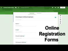 How to create online registration form using google docs Forms - YouTube Check Register, Register Online, Doc Form, Cash Program, Online Registration Form, Card Balance, Online Checks, Online Form, Application Form