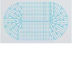 Patrón alfombra ovalada punto alto   ganchillo / Crochet / ganxet   P…