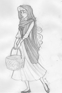 Briar Rose. I may not like the Disney movies that much but this a beautiful picture