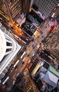 Intersection NYC By Navid Baraty