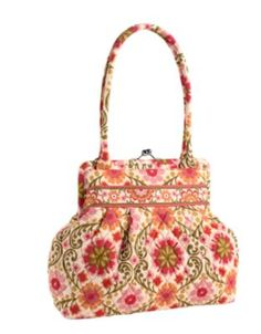 "This is Vera Bradley's purse called ""Alice."" It is  a wonderful design. I have it in Hope Garden and love it!"