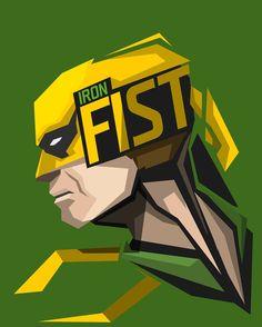 Iron Fist #popheadshots