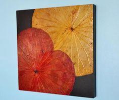 Red/Yellow Lotus Art