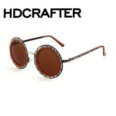 Wholesale Hot sell circular vintage sunglasses Brand Designer Vintage Sun  Glasses From m.alibaba.com 5cd33c0af4