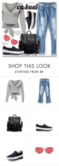 """Casual"" by jecakns ❤ liked on Polyvore"