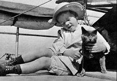 Theodore Roosevelt's cat: Slippers and Tom Quartz.