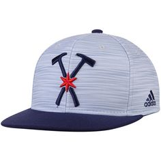 9096257509a309 Men's Chicago Fire adidas Heathered Blue/Navy Jersey Hook Adjustable Hat
