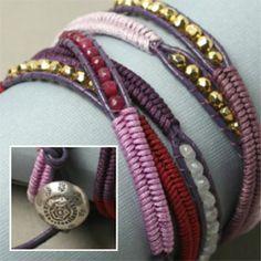 Herringbone Wrap Bracelet