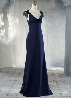 Jim Hjelm Occasions inspired by Pippa Middleton | 30 chiffon color options + 5 Chantilly lace colors