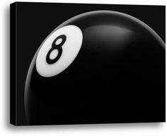 Eight Ball. #fathersday #fathersdaygiftidea #mensgifts #wallart #officedecor #giftideas #sports #billards #pool