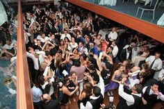 Bar Mitzvah Party Dance Floor - mazelmoments.com