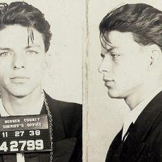 Frank Sinatra's Mug Shot, 1938