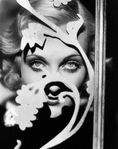 Carole Lombard photographed by Edward Steichen.