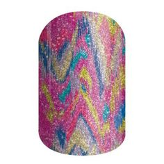 Paint Party | Jamberry This sparkle wrap features a myriad of colors melting together in contrasting harmony.