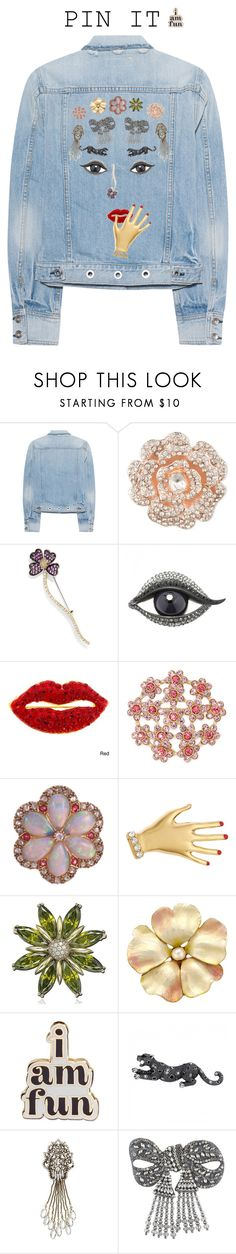 """""""#Oh My!"""" by mpartist ❤ liked on Polyvore featuring rag & bone, Anne Klein, Effy Jewelry, Lanvin, Monet, Sonia Rykiel, Suzy Levian, ban.do, Banana Republic and Gucci"""