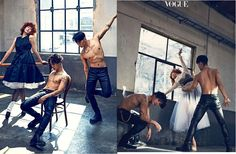 "Fans of BIG BANG, BLACKPINK and former girl group 2NE1 would possibly recognize the two handsome men in Vogue Korea's latest pictorial ""Got Me Looking So Crazy In Love"". Known throughout the K-pop world as the 'Kwon Twins' the two backup dancers real names are Kwon Young Don and Kwon Young Deuk. The pair have their …"