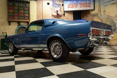 1968 Shelby GT500KR Coupe (source Hemmings)