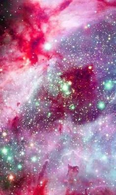 The universe does it again with this beautiful cosmic display. Possibly located in our galaxy or another galaxy, it really outmatches another site that we see in our world, and lets us know that we possibly have a creator with a colorful mind. Cosmos, Galaxy Wallpaper, Iphone Wallpaper, Cool Phone Wallpapers, Watercolor Wallpaper, Glitter Wallpaper, Galaxy Space, Galaxy Hd, Galaxy Nail